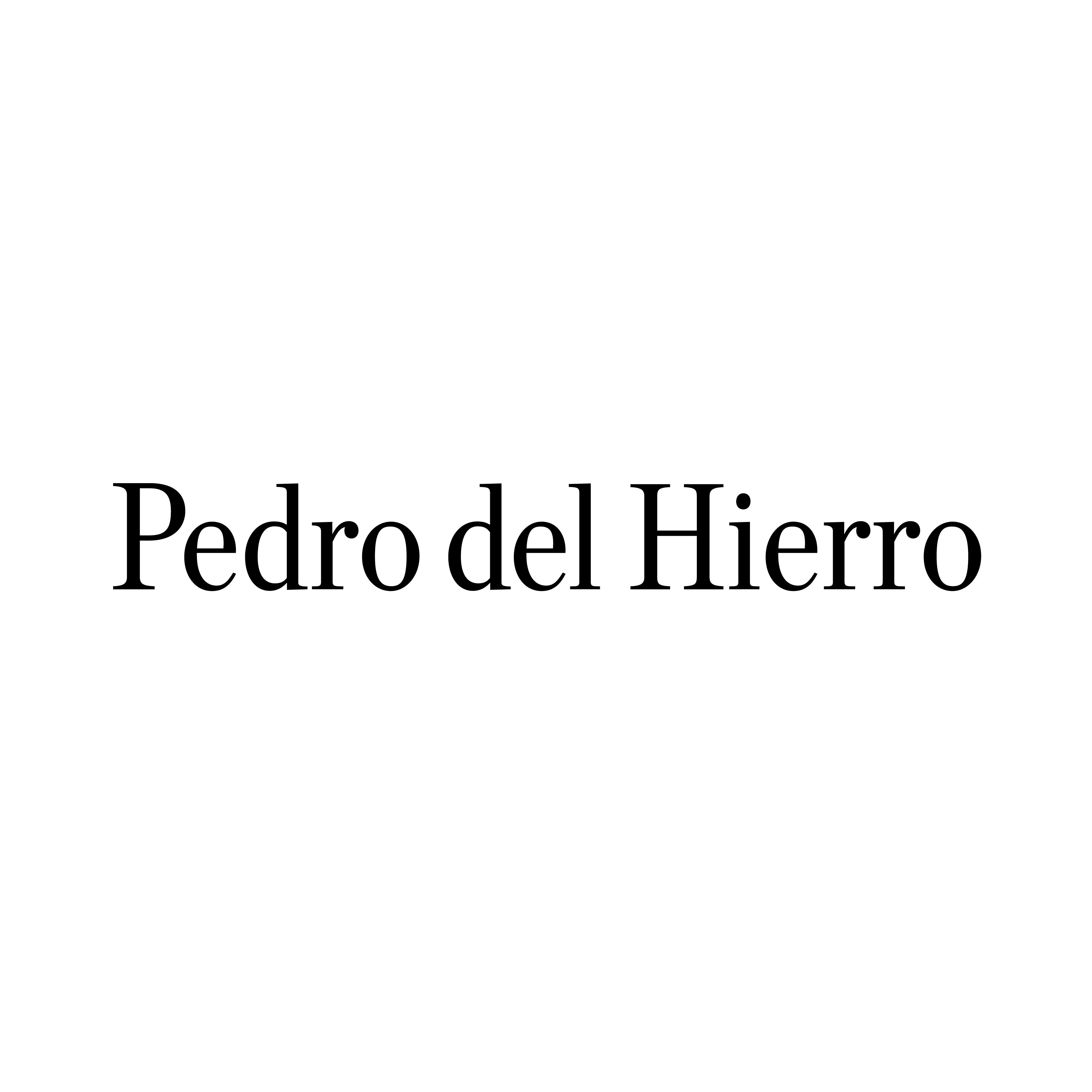 Logotipo Pedro Del Hierro