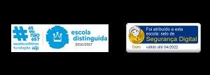 Selo Escola distinguida e segurança digital
